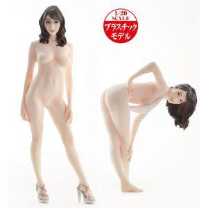 AV女優3Dスキャン・プラモ【PLAMAX】Naked Angel『JULIA(ジュリア)』1/20 プラモデル【マックスファクトリー】より2020年4月発売予定☆