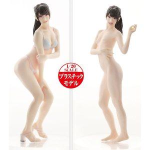AV女優3Dスキャン・プラモ【PLAMAX】Naked Angel『希島あいり』1/20 プラモデル【マックスファクトリー】より2020年5月発売予定☆