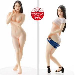 【PLAMAX】Naked Angel『蓮実クレア(はすみ くれあ)』1/20 プラモデル【マックスファクトリー】より2021年9月発売予定♪